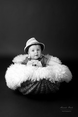 Little Big Boy. (alexander.dischoe) Tags: nikon nikond7100 d7100 dslr dx nikon18200mm 18200mm nikkor18200mm shooting babyshooting kiddies toddler boy junge knabe korb switzerland bw blackandwhite blackwhite schwarzweiss