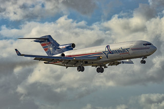 N495AJ / Boeing 727-233F(W) / 20937/1103 / Amerijet International