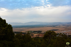 Vue sur la plaine de la Mitidja depuis le « Tombeau de la chrétienne »
