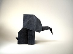 Wild Elephant - Patrcia Medeiros (Rui.Roda) Tags: origami papiroflexia papierfalten elefante wild elephant patrcia medeiros