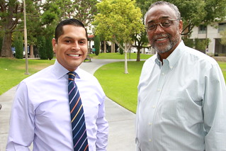 Miguel Santiago is endorsed by Councilmember Curren D. Price