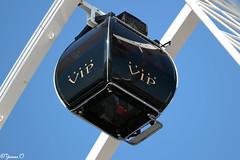 Ferris Wheel VIP Gondola with Glass Bottom (Yvonne Oelsner) Tags: denhaag scheveningen riesenrad reuzenrad ferriswheel giantwheel noria dutchwheels vekoma glassbottom glassfloor