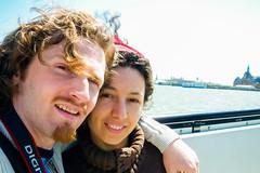 On the ferry near Manhattan (Raoul Pop) Tags: flashbackfriday ferry breeze ligia portrait raoul nyc
