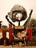 Fiokla (fantoche art dolls) Tags: fantoche oana micu art dolls papusi objects theatrical costumes doll stand scenography magical nostalgia