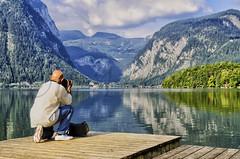 Miradas fotografiadas (mArregui) Tags: paraje paisaje hallstatt lagohallstter lago austria hallstter fotgrafo especial reflejos reflejo wwwarreguimeluscom marregui nikon mirada airelibre