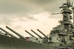 Battleship USS Alabama BB-60 (8DCPhotography (www.8dcphotography.co.uk)) Tags: navy www8dcphotographycouk warship ussalabama holiday southdakotaclass usn ship maritime alabama usa2016 worldwar2 guns usnavy america military battleship mobile unitedstates us