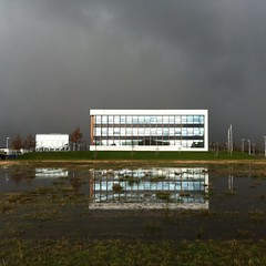 stormy weather (rrover69) Tags: utrecht architectuur papendorp uploaded:by=flickrmobile flickriosapp:filter=nofilter