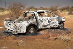 MALI-1624.jpg (jeromestarkey) Tags: africa mali bomb charred gao hilux