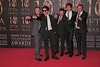 Hardy Bucks at Irish Film and Television Awards 2013 at the Convention Centre Dublin