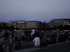 CSD and the Alster River (jvivancode) Tags: street gay night river day nacht hamburg christopher august pride parade alster csd 2012 schwul strasenfehst