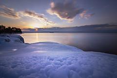 NDOakledgeBumps2.13 (Eric Jacob) Tags: park sunset lake burlington landscape nikon vermont angle wide tokina filter champlain nd vt oakledge 1116mm d7000