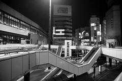 omiya night walk (Norio.NAKAYAMA) Tags: road building japan night 日本 saitama 夜景 道路 omiya ビル 大宮 さいたま
