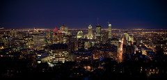 Montreal Tonight - Happy Valentine's Day (Cyrielle Beaubois) Tags: city panorama canada skyline night lights noche cityscape view montral montreal hiver ciudad qubec nuit canoneos5dmarkii sigma28mm18macro cyriellebeaubois