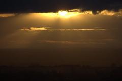 Sunset 15th February 2013 (mark_fr) Tags: york bridge sunset sea sky sun set sunrise volcano maple view market yorkshire hill north estuary vale east dust rise volcanic mere beverley humber hornsea weighton beeford lissett molescroft