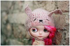 Love the Mei Mei bunny hat