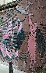 Wall graffiti in Valencia (Fuji XE1) (markdbaynham) Tags: camera city urban colour art valencia wall graffiti spain fuji x system espana spanish fujifilm local 1855mm trans fujinon compact sensor ccs ciutat xf 284 xe1 fujix f284