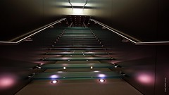 GLASS STAIRWAY - APPLE CENTRE SYDNEY  NSW AUSTRALIA 16-2-13 (smortaus) Tags: apple stairs wideangle indoor nswaustralia sydneynswaustralia dannyhayes mygearandme mygearandmepremium sigmawideanglelense