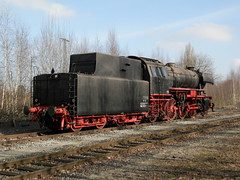 Stoomloc 23 058(Emmerich 17-2-2013)1 (Ronnie Venhorst) Tags: modern train star am br zug db steam 23 trein dlm dampf stoomtrein emmerich hauenstein friese 058 stoomlocomotief baureihe maatschappij br23 stoomloc fstm stroomtrein