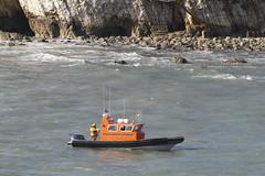 Freshwater Lifeboat (John Ambler) Tags: bay lifeboat isleofwight rib freshwater freshwaterbay freshwaterlifeboat