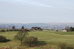 Farmland..... (Halliwell_Michael ## Thank you for your visits #) Tags: winter sheep farmland lancashire farms rochdale hollingworthlake littleborough 2013 nikond40x