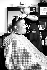 IV Lounge Vallejo Ca (RolandR.) Tags: california minolta sony barbershop barber bayarea vallejo 50mm18 tapers 50mmf18 vallejoca fades babb a55 sonyalpha bayareabarberbrotherhood barberrome