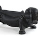 175. Cast Iron Dachshund Boot Scrape