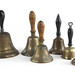 167. Collection of Old Brass School Bells