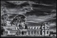 Catholic Cathedral - 2 Years On from the 2011 Earthquakes (Geoff Trotter) Tags: old newzealand christchurch blackandwhite art monochrome canon earthquake nz hdr chch photomatix 50d canterburynz 3exp canon50d geofftrotter eqnzchc2010 stunningphotogpin