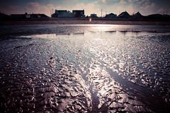 Glisten (rickyshitpants) Tags: morning sea sky sun beach coast boat kent alone empty joy atmosphere walker lensflare isolation lonely wreck runner whitstable seasalter rickyshitpants