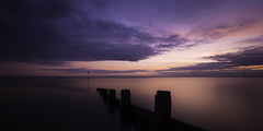 chalkwell (richard carter...) Tags: longexposure sunset beach canon groyne essex 1635 chalkwell eos5dmk2