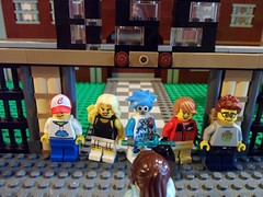 School photo... (-{Peppersalt}-) Tags: for lego battle superheros villians iceblast peppersalt blackhaven