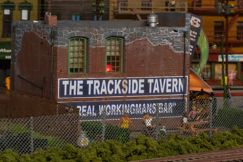 The Trackside Tavern in Tracy