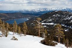 "Viewing Donner Lake _5549 (hkoons) Tags: california snow ski mountains landscape nordic recreation sierras i80 peaks skis donnerlake wintersports sierramountains donnerpeak nordicskiers ""crosscountry"" ""crosscountryskiing"" nordicskiersofnevadacounty ""schallenbergerridge"""