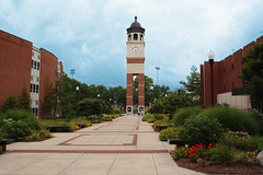 "WKU Guthrie Tower Courtyard • <a style=""font-size:0.8em;"" href=""http://www.flickr.com/photos/22274533@N08/8523871704/"" target=""_blank"">View on Flickr</a>"