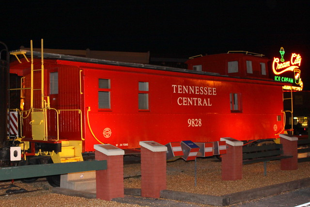 Tennessee Central Caboose #9828