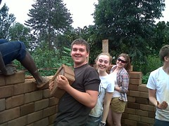 Construction in process... On Africamp! (adventure_alternative) Tags: expedition youth kenya