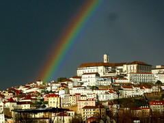 If we're ever gonna see a rainbow . . . (rgrant_97) Tags: portugal arcoiris rainbow university coimbra universidade