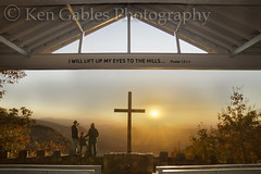 Pretty Place Chapel, YMCA Camp Greenville, Greenville County, South Carolina (Ken Gables Photography) Tags: sunrise fallfoliage greenvillecountysouthcarolina ymcacampgreenville prettyplacechapel fredwsymmeschapel