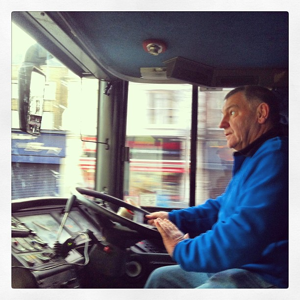 Major props to Kenny our bus driver for getting us up north last night and out of Brighton. #Belta #supereverthing