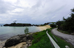 Tobacco Bay Beach, St George, Bermuda (ShootsNikon) Tags: ocean flowers trees seascape beach swimming landscape fishing sand sailing plumeria scenic boating bermuda stgeorge atlanticocean gulfstream cruiseships dockyard pinksand tobaccobay turquoisewater cruiseport nikond3 judithmalley rockyformations