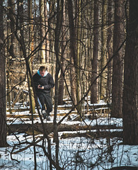 skippin thru the forest (maxwell.arnold) Tags: trees winter portrait funnyface snow color detail tree nature colors face forest canon lost crazy vines woods focus funny colorful snowy candid exploring hunting champion vine running nike sharp adventure telephoto bark photowalk 5d treebark hop gps adidas funnyfaces skipping tones tone hdr hopping winterwonderland thehunt naturewalk hops middleofnowhere iphone adventuring underarmor inthewoods facialexpression funnypictures sharpness colortone lostinthewoods walkinginthewoods adventurewalk colortones lostinwoods runningthroughthewoods lostinforest iphoning runningthroughtheforest skippingthroughthewoods skippingthroughtheforest