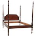 105. Mahogany Federal Style Bed