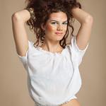 Model: Tamara Š ( Agencija 22) Photographer: Martina Kofol Assistant: Antonio Per MUA: Marjeta Gojič Styling: Selma Špendl