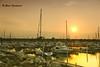 Sunset Over North Point Marina (ElenaK@Chicago) Tags: sunset marina yacht il winthropharbor nikond700 northpointmarina nikon28300mm blinkagain