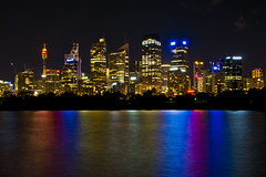 Just Sydney.. What else? (Nuxis [Davide]) Tags: city water skyline night nightshot sony sydney australia newsouthwales cbd a77 alpha77