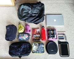 Chris: Overnight working trip in the Smart Alec (TOM BIHN) Tags: whatsinyourbag whatsinmybag tombihn smartalec