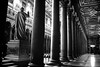 """38/365 - """"Habemus Papam"""" nr.10 (Luca Rossini) Tags: bw pope church saint statue architecture project paul blog ancient cathedral basilica sony arcade columns theme papa 365 colonnade papal habemuspapam outsidethewalls rx1 365daysofrx1onecameraonelens12projects"""