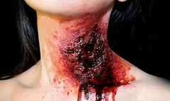 neck wound (ross-sfx) Tags: neck blood makeup bite wound sangue specialeffects sfx collo trucco makeupartist morso ferita effettispeciali rosssfx