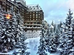 Banff (C.Horvath) Tags: winter snow canada hotel banff