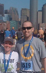 Finally getting the okay to travel, one and a half year cancer survivor and stem cell transplant recipient brother and his Colorado resident sister look to take on the altitude of BB10K after finishing a race last year together in Boston.